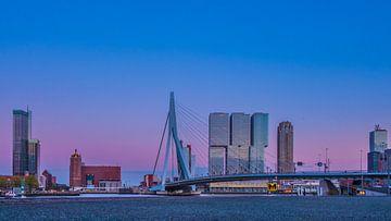 Skyline Rotterdam van Jelmer van Koert