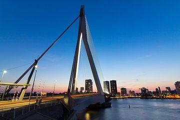 Erasmus bridge Rotterdam von Brandon Lee Bouwman