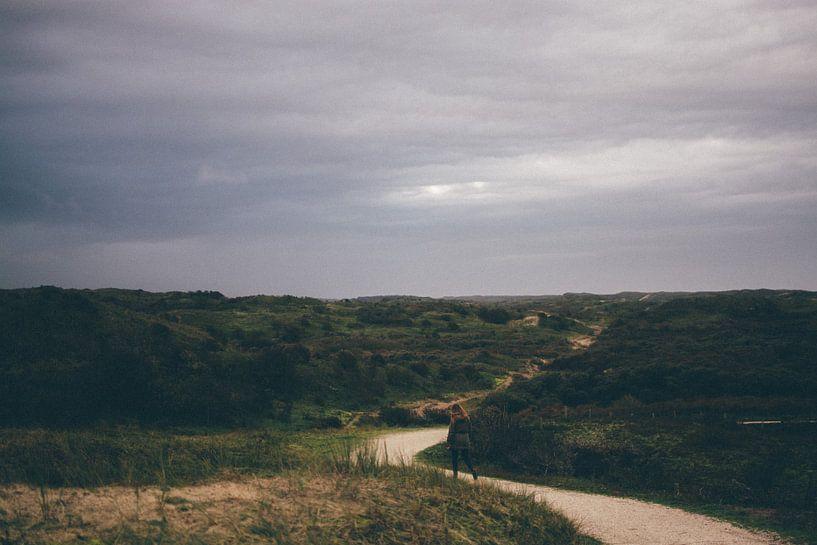 eenzaam in de duinen van Stephan de Haas