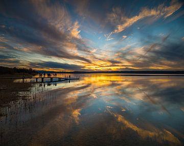 Dramatischer Sonnenuntergang von Denis Feiner