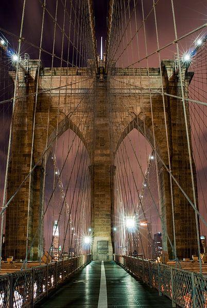 Brooklyn Bridge van Eriks Photoshop by Erik Heuver
