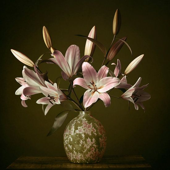 Stillleben mit Lilien