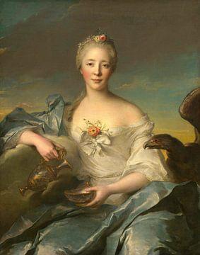 Madame Le Fèvre de Caumartin als Hebe, Jean-Marc Nattier