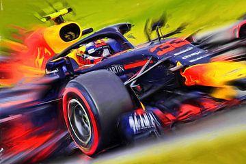 Max Verstappen #33 van Jean-Louis Glineur alias DeVerviers
