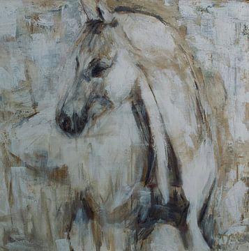 White horse one van Mieke Daenen