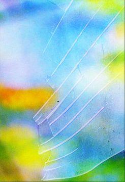 Gebroken glas van René Glas