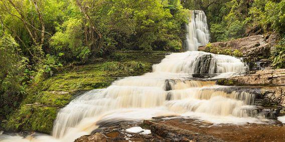 McLean Falls Waterval, The Catlins, Nieuw-Zeeland