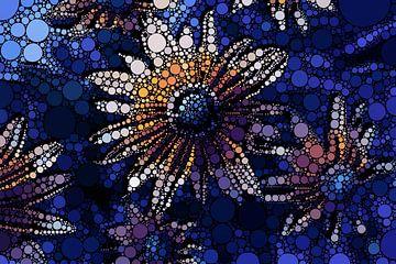 Bruisende bloemen van Wim Meijers