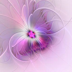 Abstract Flower van