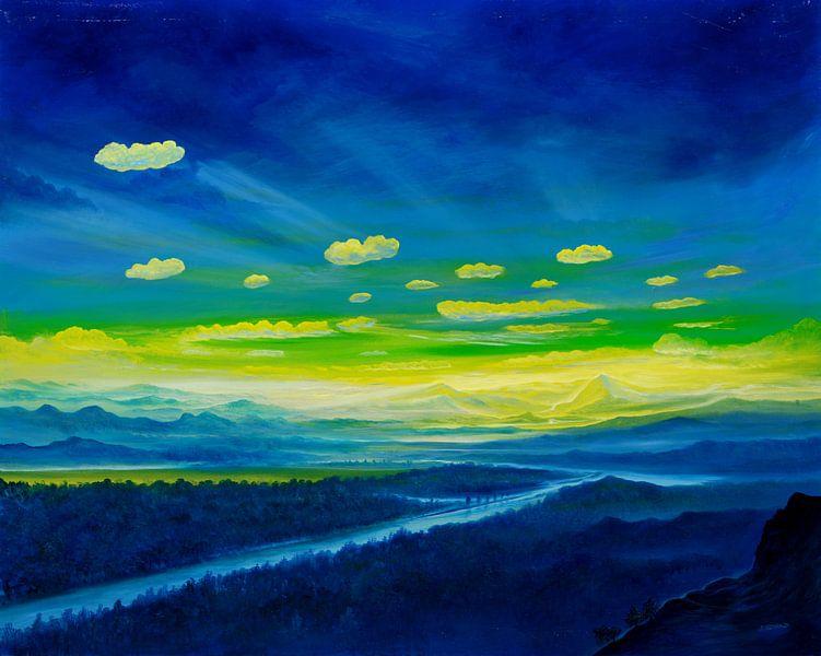 Gelber Horizont