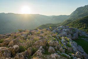 Zonsondergang in Montenegro von