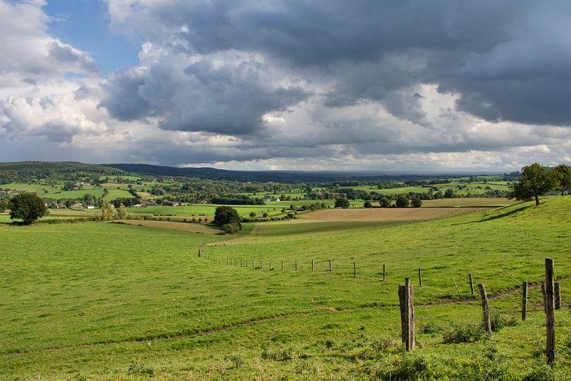 Landschap Zuid-Limburg van Charlene van Koesveld