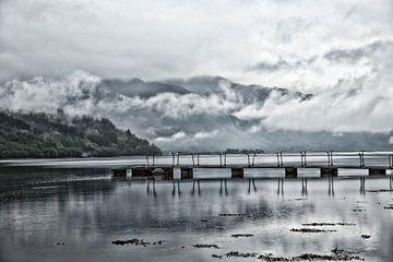 Loch Leven, nabij Glencoe, Schotland