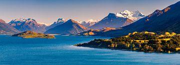 Die Straße nach Glenorchy, Otago, Südinsel, Neuseeland. von Henk Meijer Photography