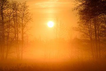 mystischer Sonnenaufgang van Lars Tuchel
