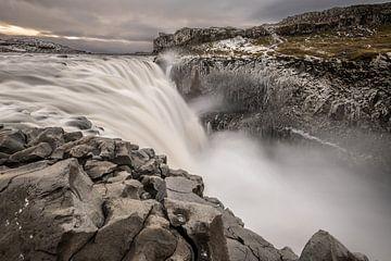Dettifoss in Nordisland, der Champion der europäischen Wasserfälle von Gerry van Roosmalen