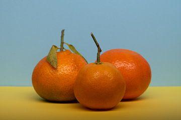 Trio mandarijnen