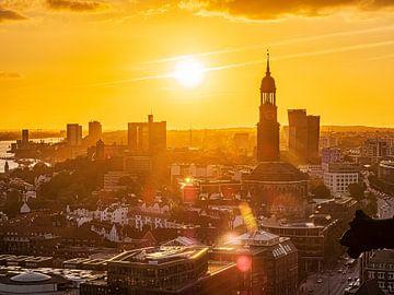 2018-09-13 Panorama de Hambourg sur Joachim Fischer