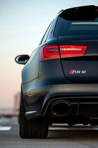 Audi RS6 achterkant van Bart Mozer