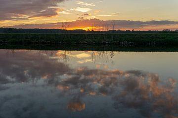 Zonsondergang. van Anjo ten Kate