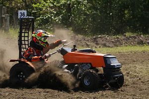 grasmaaier racer van