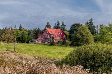 Prachtig wandelparadijs op de Rennsteig/Thüringerwoud van Oliver Hlavaty