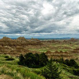 Badlands National Park, USA sur Brenda Reimers