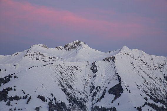 Zonsopgang in de Berner Alpen