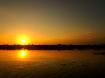 Sonnenaufgang in Monterrico von Patrick Hundt