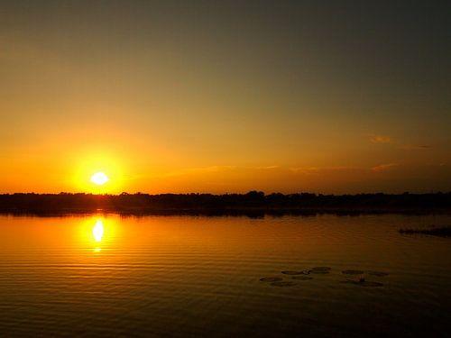 Sonnenaufgang in Monterrico van Patrick Hundt
