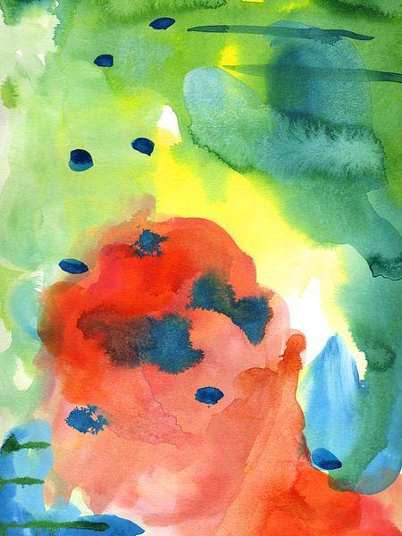 Watermeloen van Brigitte Bazuin
