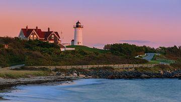 Nobska Point Light, Falmouth, Cape Cod, Massachusetts