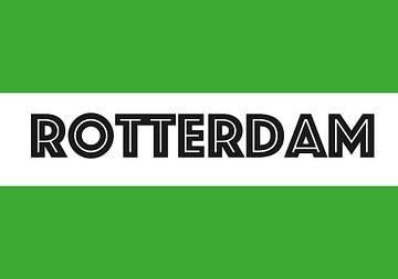 Drapeau de Rotterdam sur De Vlaggenshop