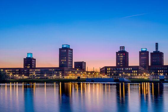 Skyline Ypenburg Den Haag van Richard Dijkstra