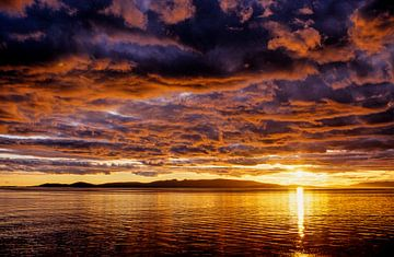 Sunset on the sea - Analoge Fotografie! von Tom River Art