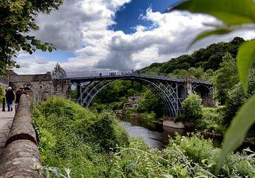 Eerste ijzeren brug. van Rijk van de Kaa