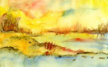 erwachen des Morgenlichts von Claudia Gründler