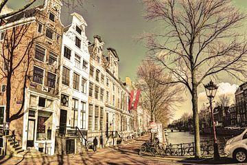 Keizersgracht im Winter Amsterdam Alt von Hendrik-Jan Kornelis