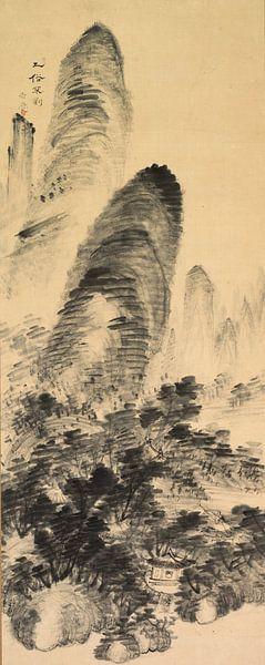 Gyokudo Uragami.Verboten für den Vulgären von 1000 Schilderijen