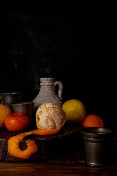 Stilleven sinaasappel van zippora wiese