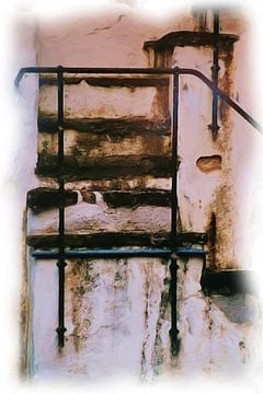Oude trap van Maurice Dawson
