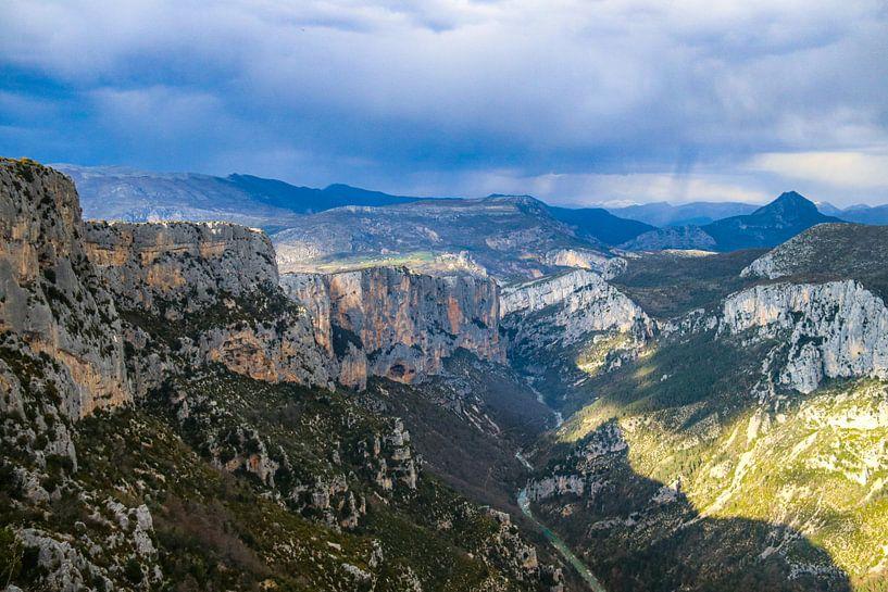 Uitzicht over de Gorges du Verdon van Martijn Joosse