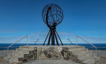 Monument am Nordkap, Norwegen von Adelheid Smitt
