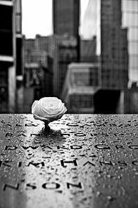 9/11 Memorial Site van Maurice Gort