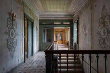 bel escalier abandonné sur Kristof Ven