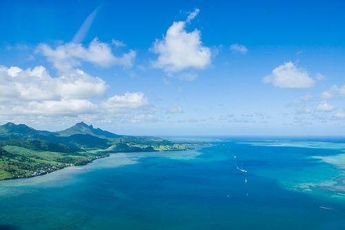 luchtfoto mauritius van