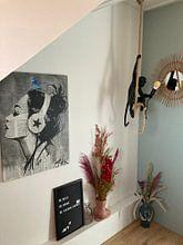 Klantfoto: RUNAWAY SKIES van LOUI JOVER, op canvas