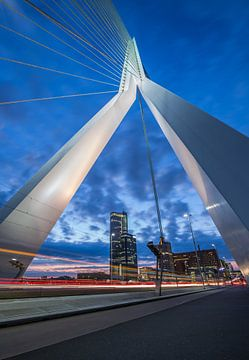 De Erasmusbrug in Rotterdam van MS Fotografie | Marc van der Stelt