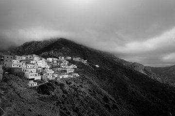 Olympos, Karpathos, Griechenland von Peter Baak