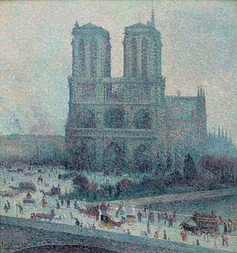 Notre Dame, Paris, Maximilien Luce sur